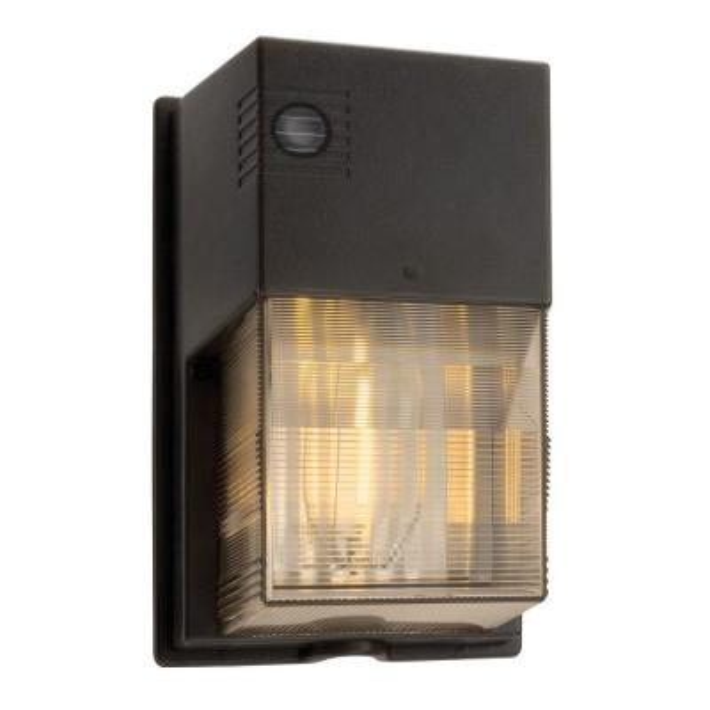 70-Watt High Pressure Sodium Black Wall Pack Light