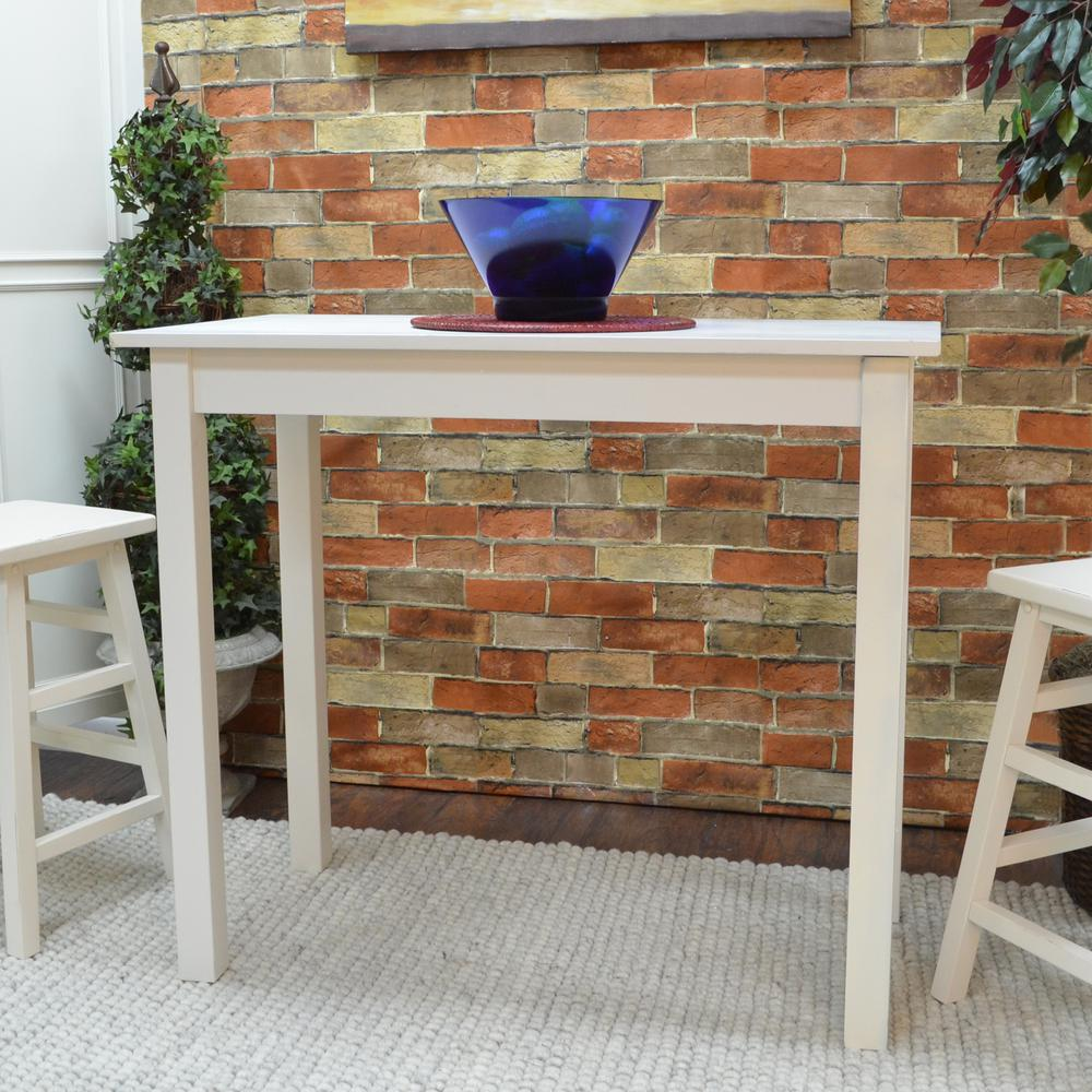 Cafe Antique White Pub/Bar Table