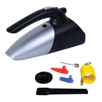 3-in-1 Auto Portable Air Compressor and Car Vacuum Cleaner (2-Pack)