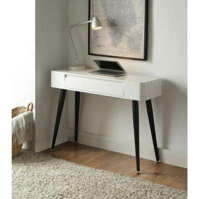 White and Black Desk
