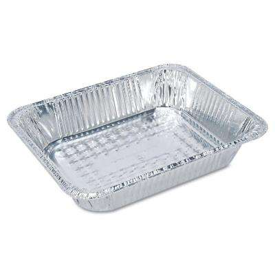 Steam Table Aluminum Pan, Half-Size, 1-1/2 in. Shallow, 100 Per Case