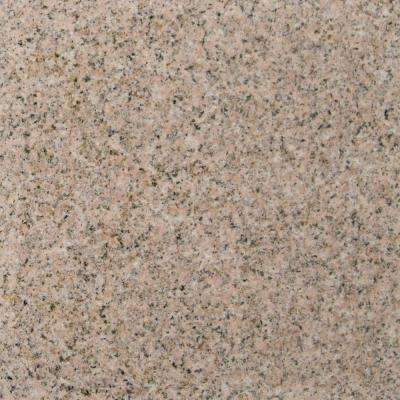 Gold Rush 18 in. x 18 in. Polished Granite Floor and Wall Tile (11.25 sq. ft. / case)