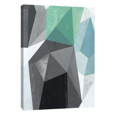 12 in. x 10 in. ''Glass Vase 5'' Printed Canvas Wall Art