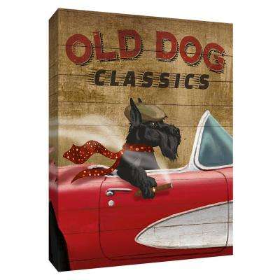 12.inx10.in''Old Dog Classics'' By PTM Images Canvas Wall Art