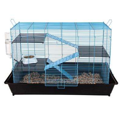 Mess Resistant Chew Proof Small Animal Cage - 35 in. x 17.5 in. x 21.75 in.
