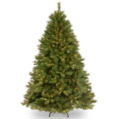 6.5 ft. Winchester Pine Artificial Christmas Tree with Clear Lights