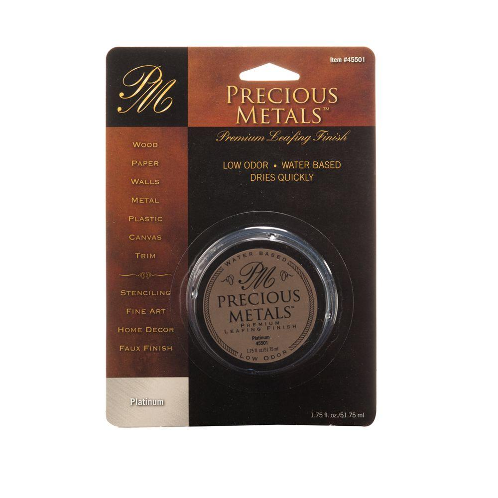 Precious Metals 1.75-fl. oz. Platinum Premium Leafing Finish
