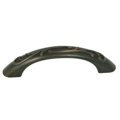 Ivy 3 in. Center-to-Center Oil Rubbed Bronze Arch Cabinet Pull (10-Pack)