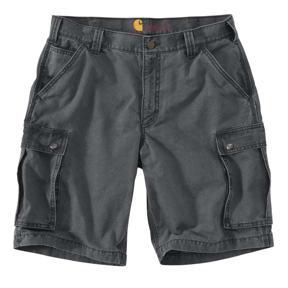 Men's Regular 31 Gravel Cotton Shorts