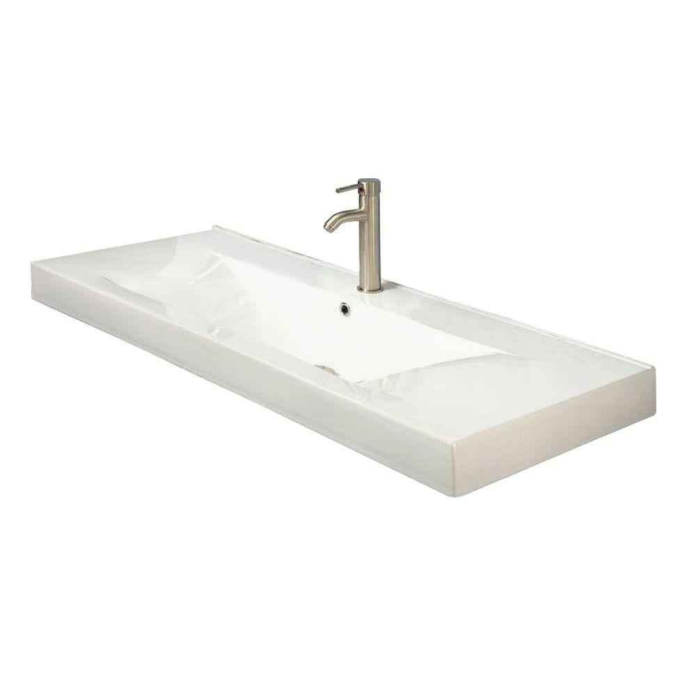 Cityview Vessel Sink in White