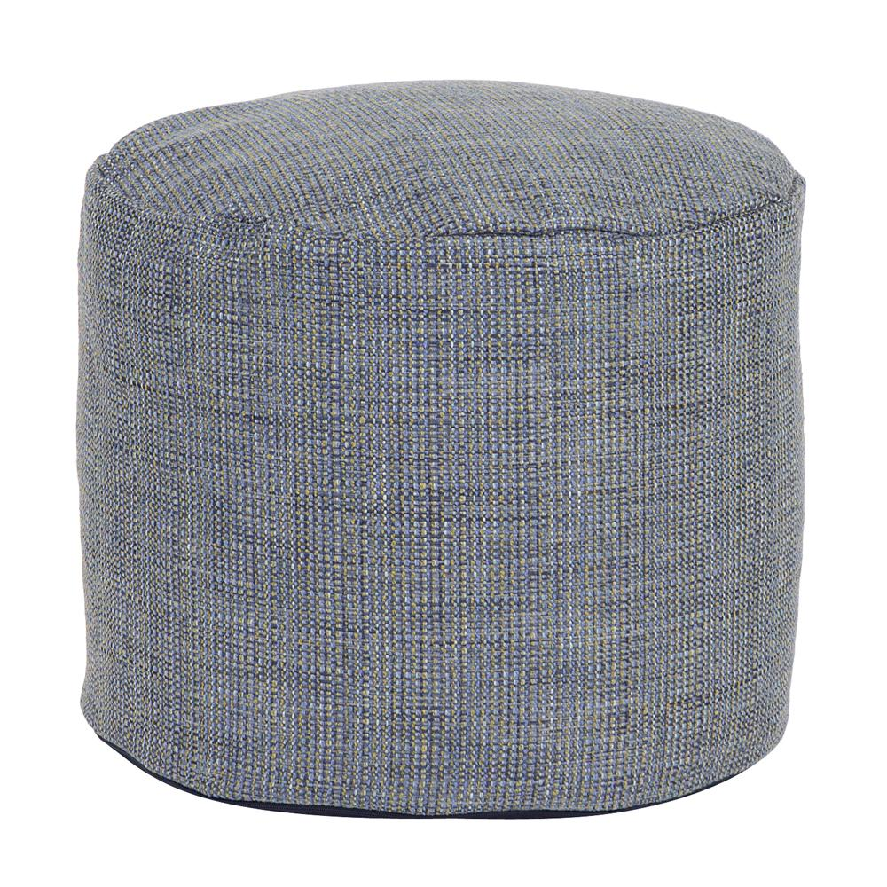 Sterling Willow Green Square Pouf Ottoman-20-20 - The Home Depot
