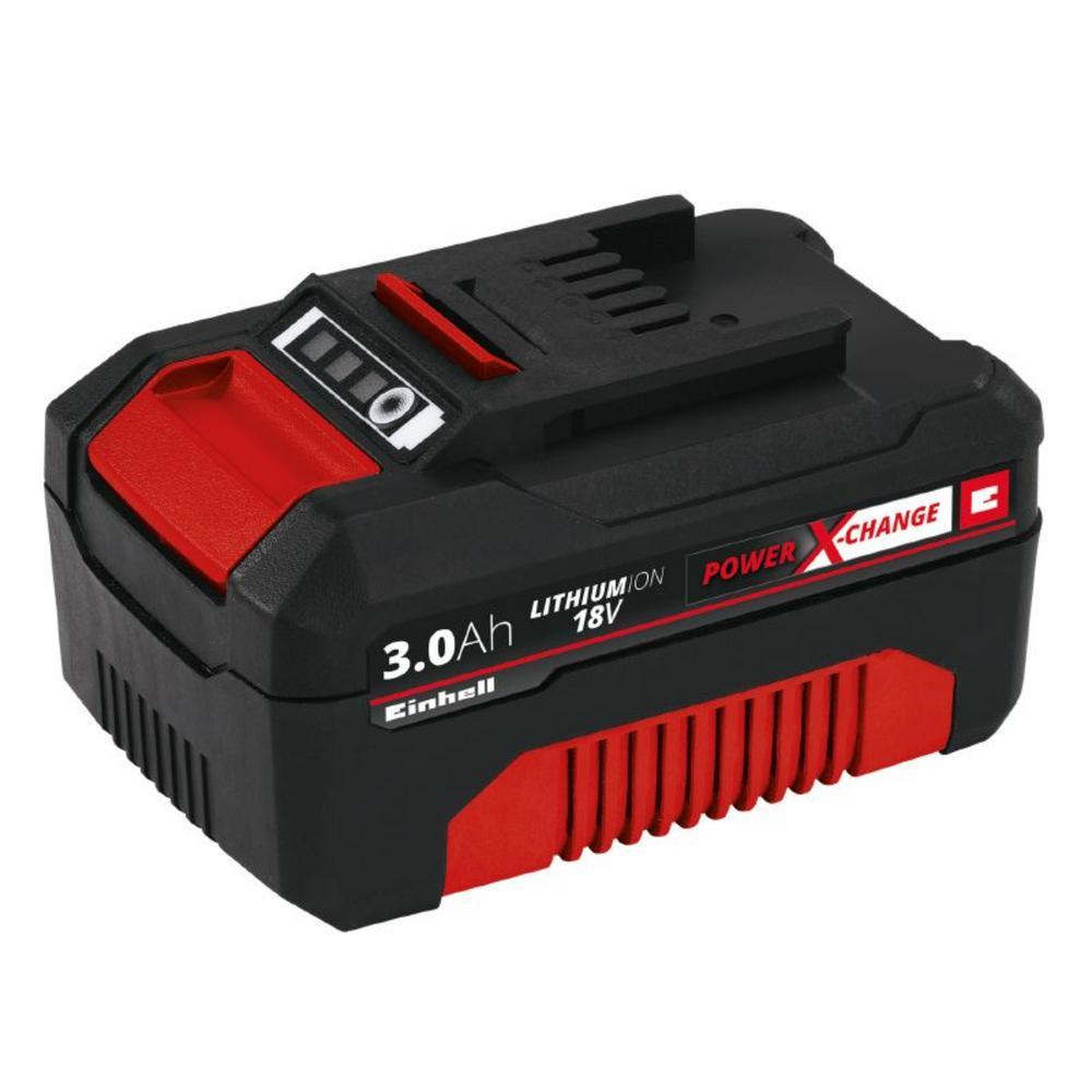 einhell 18 volt 3 0 ah power x change battery 4511496 the home depot