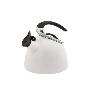 Flight 2.4 Qt. White Tea Kettle