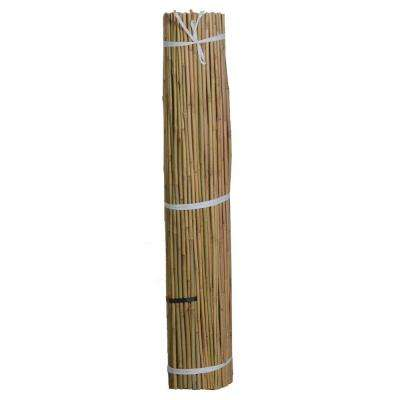 5 ft. x 3/8 in. Natural Bamboo (Package of 500)
