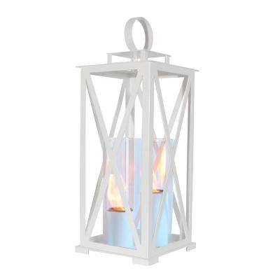 Madison 25.5 in. Lantern in White (Large Size)