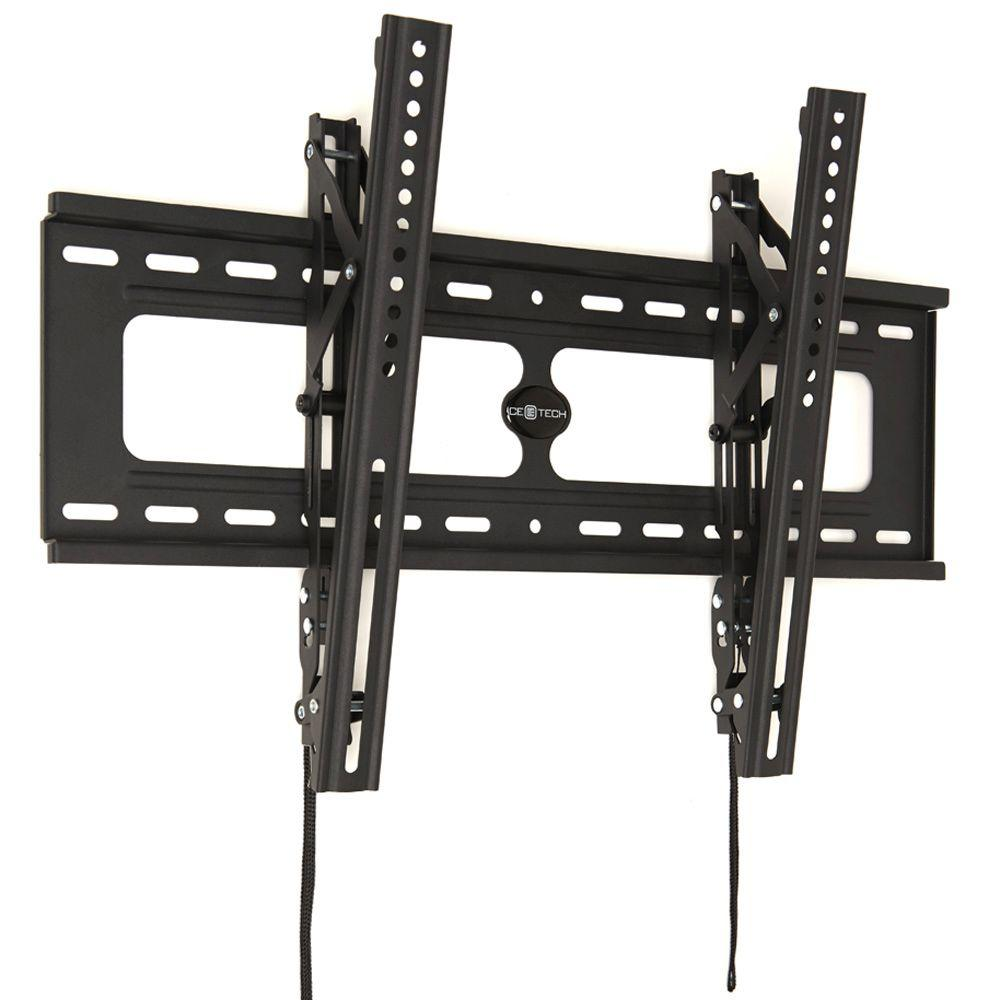 Tilting Wall Bracket For Tv Ce Tech Tilting Flat Panel Tv Wall Mount For 26 Into 90 Intvs .