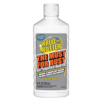 The Must for Rust 8 oz. Rust Remover and Inhibitor
