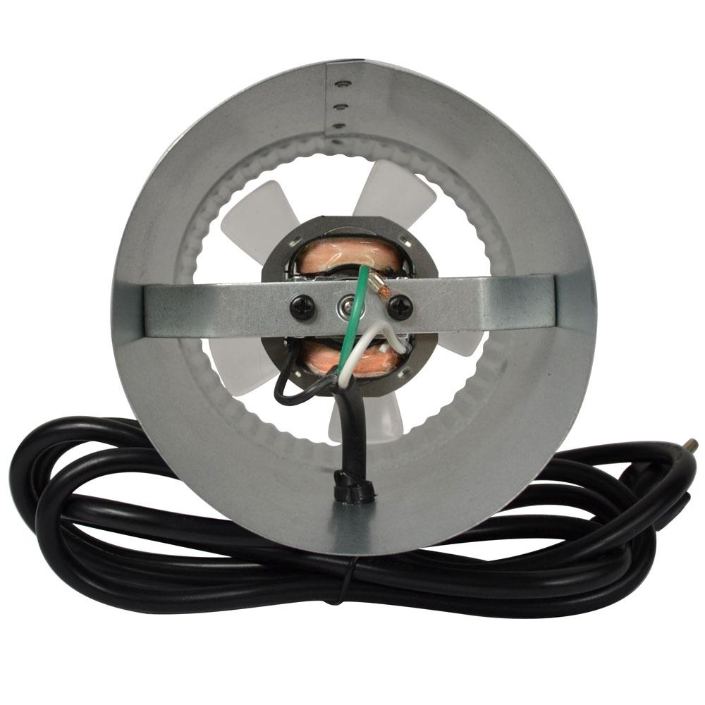 5 Inch Round In Line Duct Fan Inline Air Booster Vent
