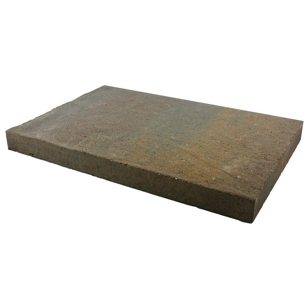 slate concrete patio stone northwest blend - Home Depot Patio Blocks