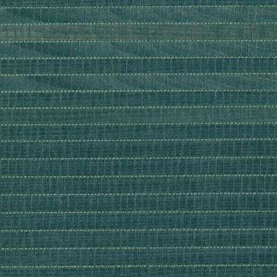 Kando Teal Grasscloth Wallpaper Sample