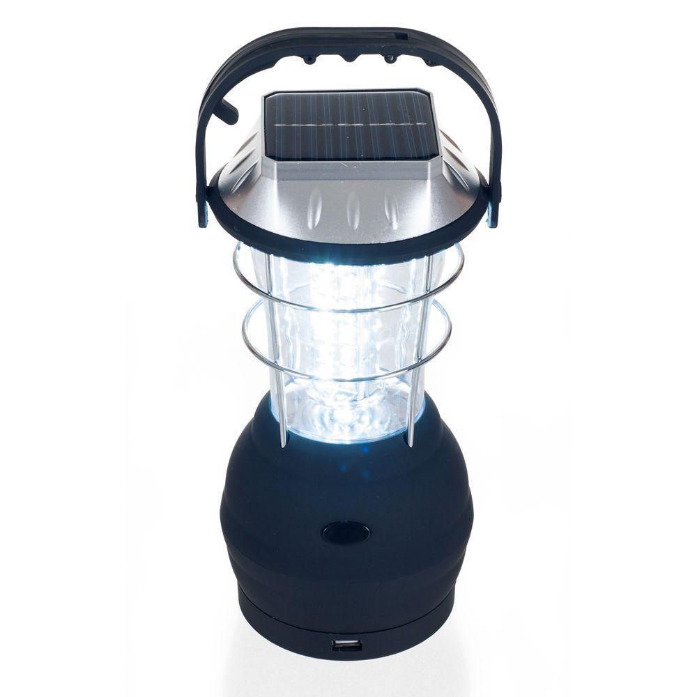 36 LED Solar and Dynamo Powered Camping Lantern