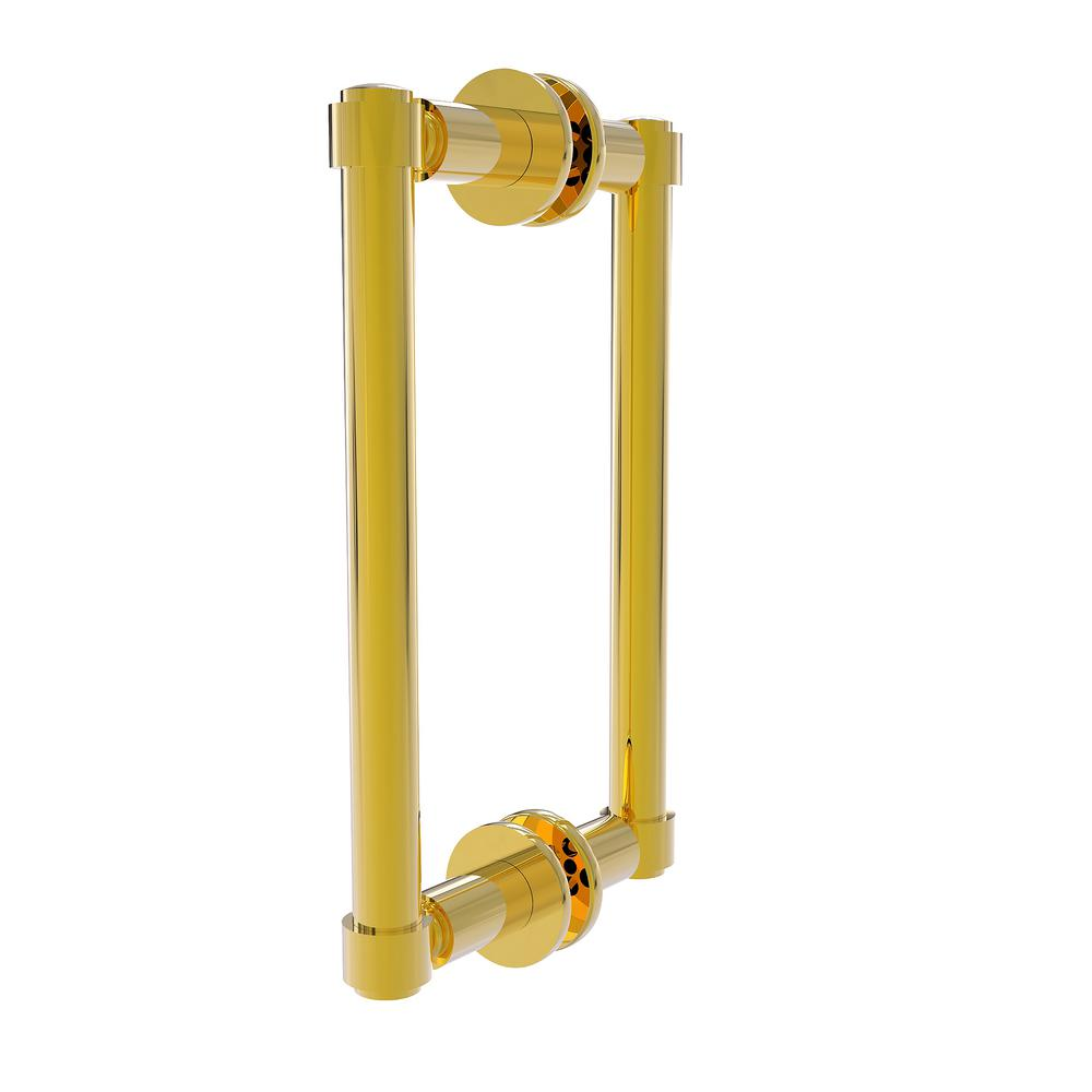 Allied Brass Contemporary 8 in. Back to Back Shower Door Pull in ...
