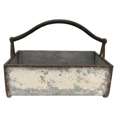 12.5 in. Metal Storage Container