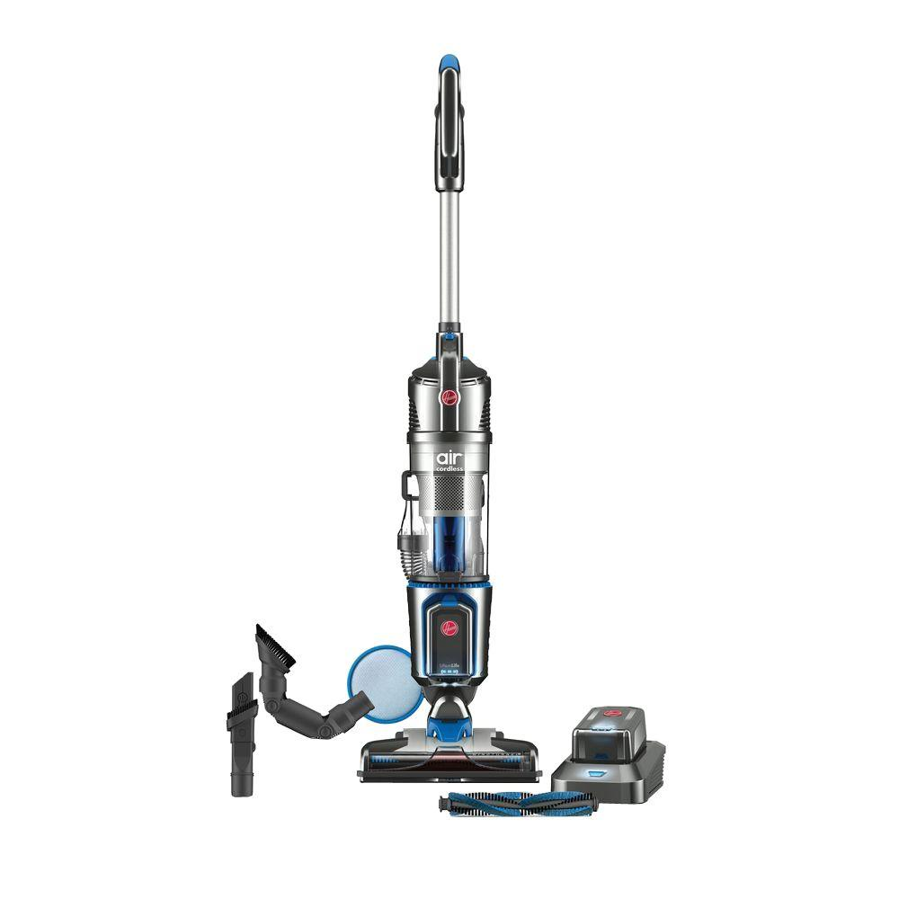 Hoover Air Cordless Series 3.0 20-Volt Bagless Upright Vacuum Cleaner, Grays ShopFest Money Saver