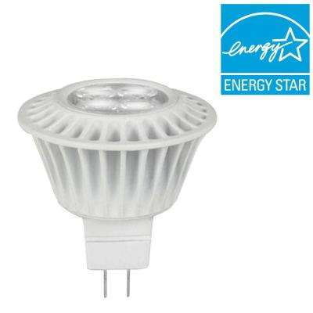 35W Equivalent Bright White (3000K) MR16 Dimmable LED Spotlight Bulbs (3-Pack)