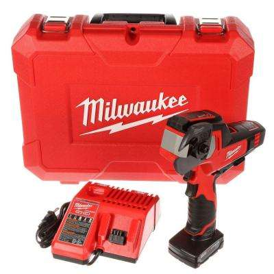 M12 12-Volt Lithium-Ion Cordless 600 MCM Cable Cutter Kit W/(1) 3.0Ah Battery, Charger & Hard Case