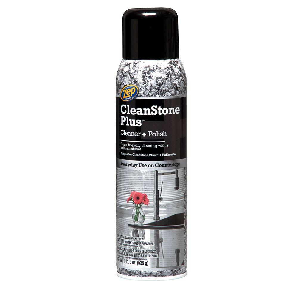 Zep 19 Oz Cleanstone Plus Polish Cleaner Zucspol19 The