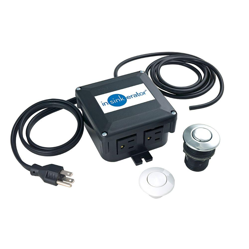 black insinkerator garbage disposal parts sts oo 64_1000 insinkerator power cord accessory kit for insinkerator garbage badger garbage disposal wiring diagram at reclaimingppi.co