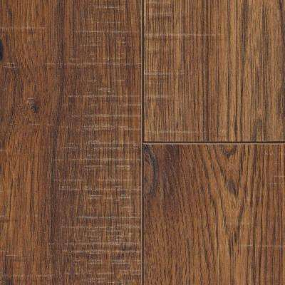 Distressed Brown Hickory 12 Mm Thick X 6 1/4 In. Wide X