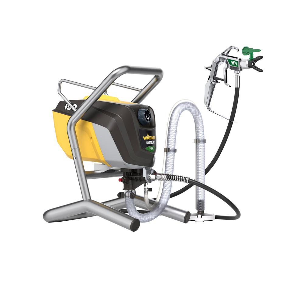 wagner control pro 190 high efficiency airless sprayer 0580002 the home depot. Black Bedroom Furniture Sets. Home Design Ideas