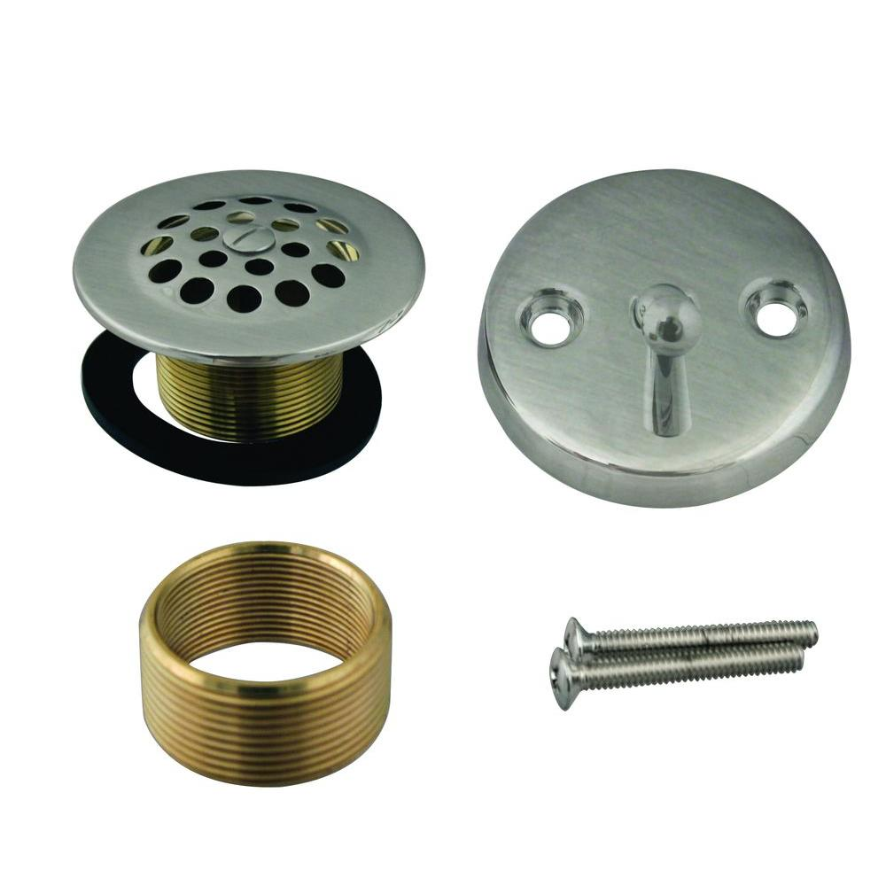Westbrass Universal Trip Lever with Grid Drain and Strainer Trim Kit