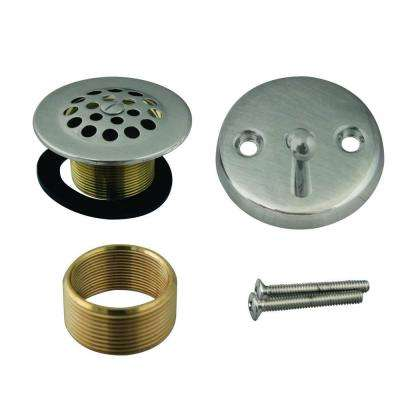 Universal Trip Lever with Grid Drain and Strainer Trim Kit