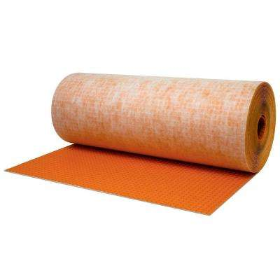 Ditra 323 sq. ft. 3 ft. 3 in. x 98 ft. 5 in. x 1/8 in. Uncoupling Underlayment for Tile