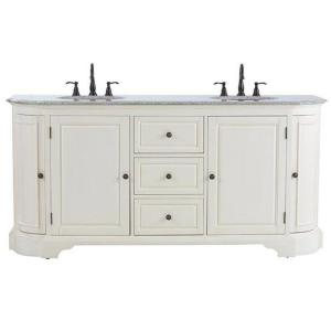 Home Decorators Collection Davenport 73 inch W x 22 inch D Double Bath Vanity in... by Home Decorators Collection