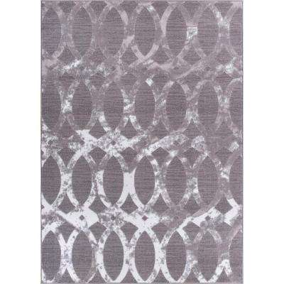 Dulcet Exotic Grey 9 ft. x 13 ft. Modern Area Rug