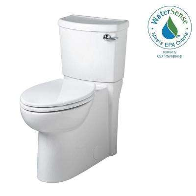 Cadet 3 FloWise 2-piece 1.28 GPF Elongated Toilet with Seat and Concealed Trapway in White