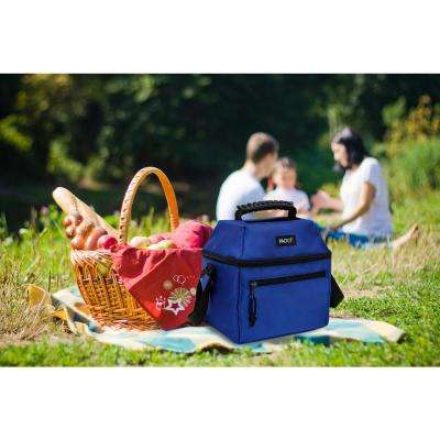 Cobalt Blue 9-Can Skylight Cooler