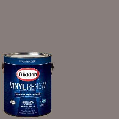 1 gal. #HDGWN52 Grey Tweed Low-Lustre Exterior Paint with Primer