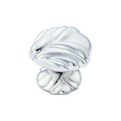 Expressions 1-3/8 in (35 mm) Length Sterling Nickel Cabinet Knob
