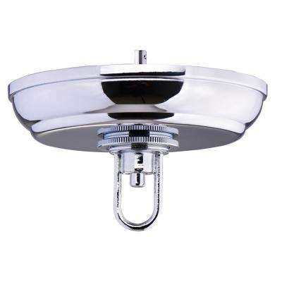 5 in. Chrome SkyBase Canopy Upgrade Kit for Chained Lighting