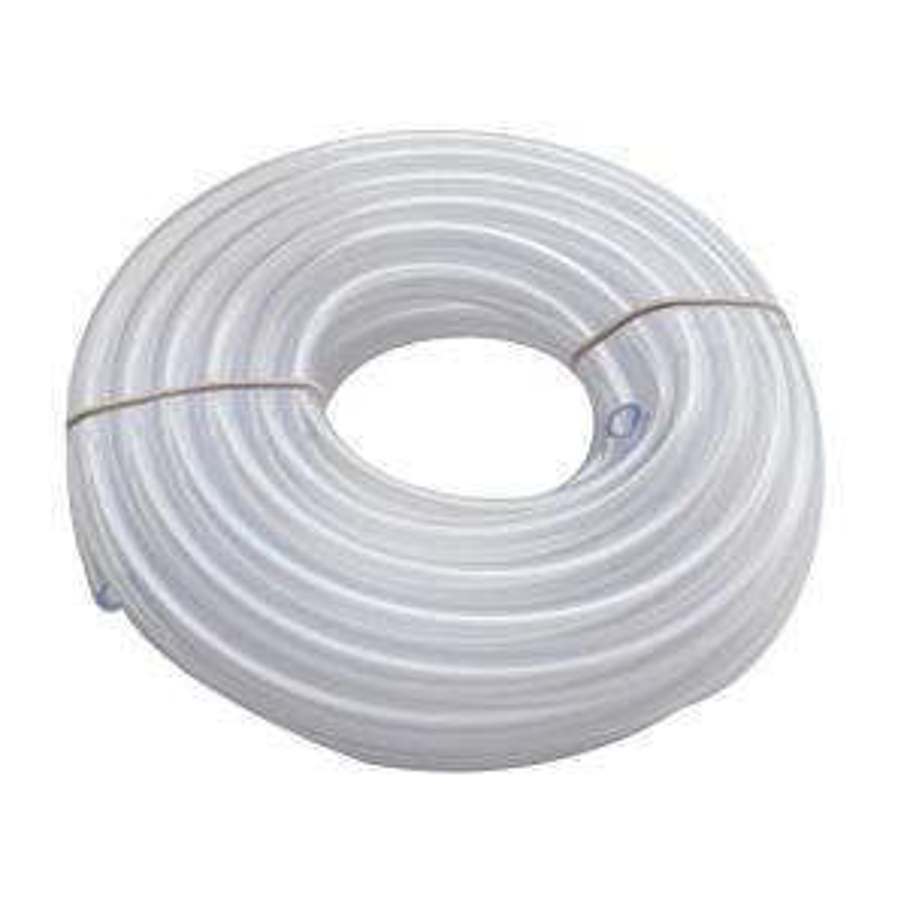 x 1//2 O.D Vinyl Tubing ~ Clear Flexible; 1//4 I.D x 1//8 Walll; Length 1ft