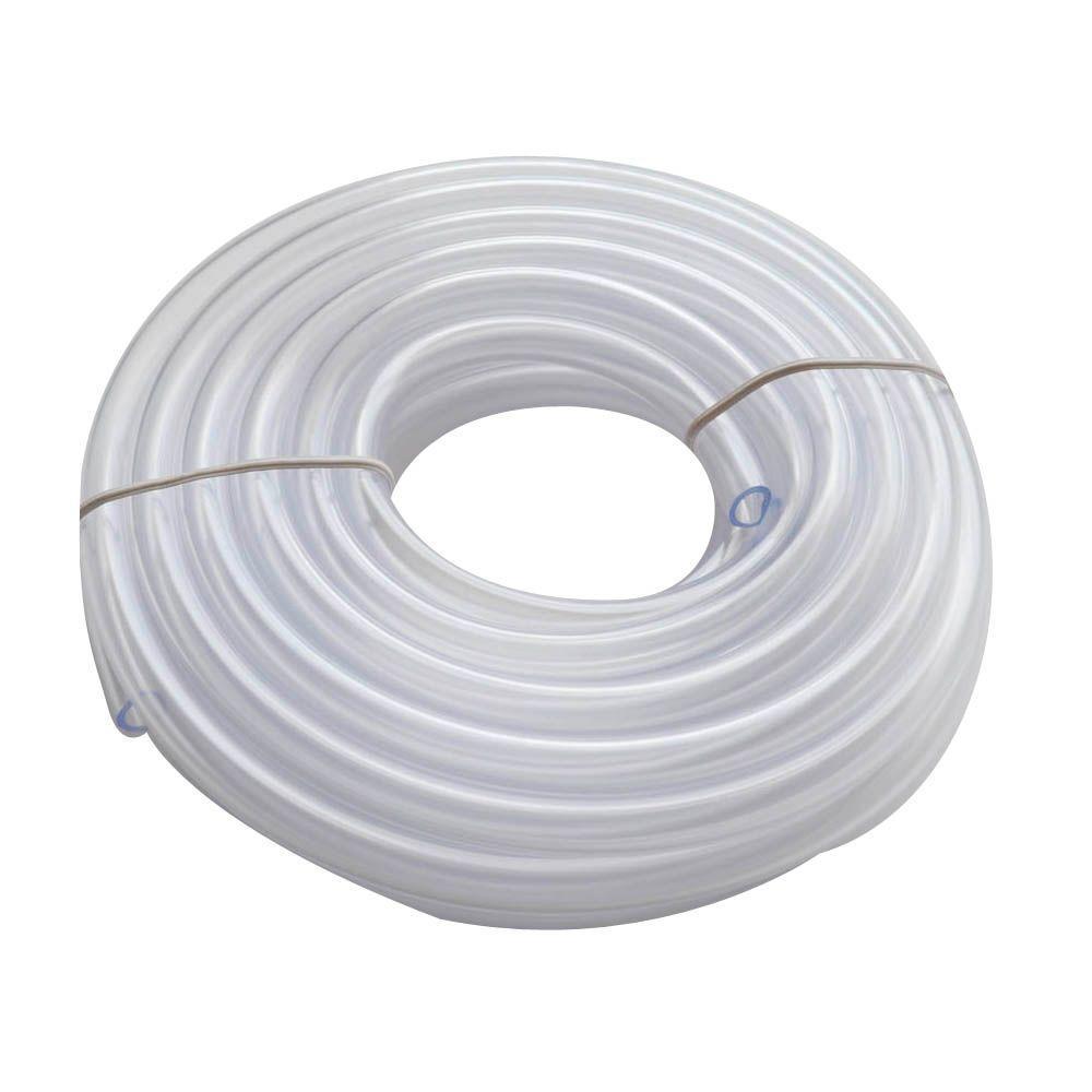 3/8 in. O.D. x 1/4 in. I.D. x 20 ft. PVC Clear Vinyl Tube