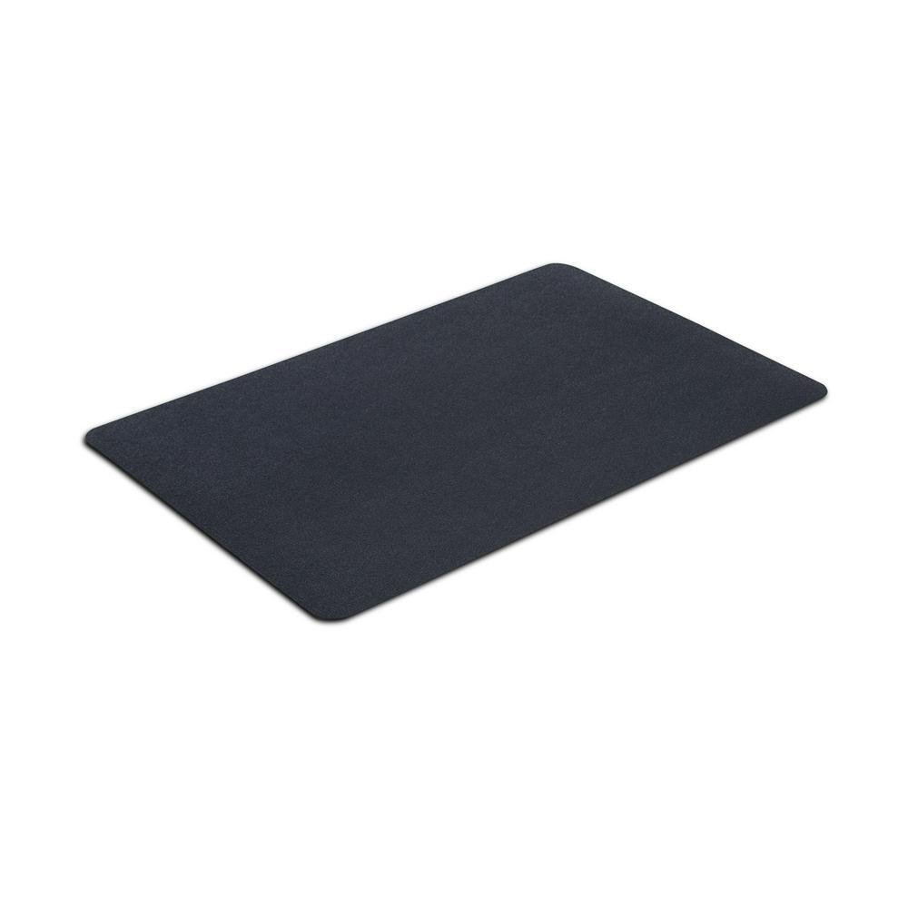 24 in. x 36 in. Multipurpose Black Rubber Mat