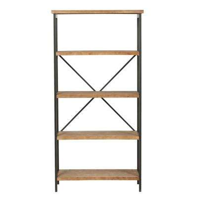 Winsten Antique Fir Wood Display Shelf