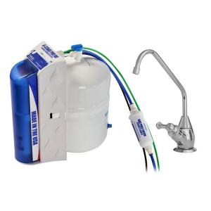 Click here to buy Pelican Water Pro 6-Stage Under Countertop Reverse Osmosis Drinking Water Filtration System with Polished Chrome Faucet Dispenser by Pelican Water.