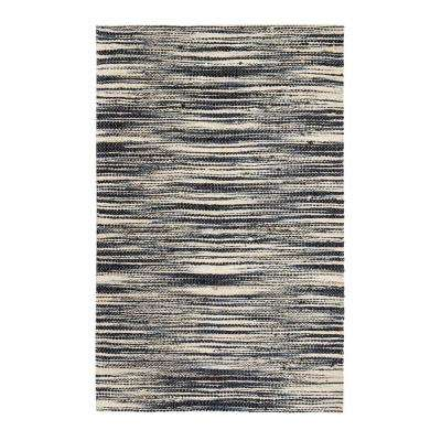 Xanthippe Ivory/Black 4 ft. x 6 ft. Area Rug